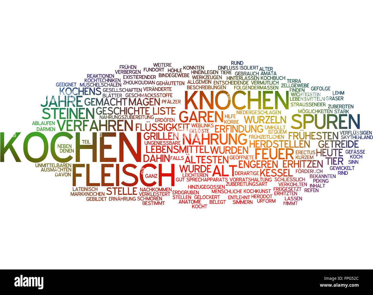Kochen Knochen Fleisch Geschichte Essen Nahrung Stock Photo ...