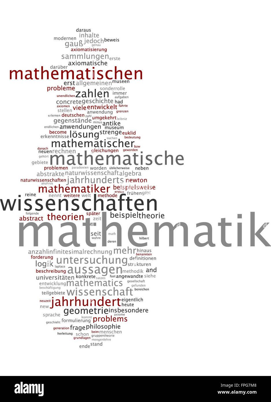 Mathematik Mathe Mathematisch Rechnen Algebra Stock Photo: 99931560 ...
