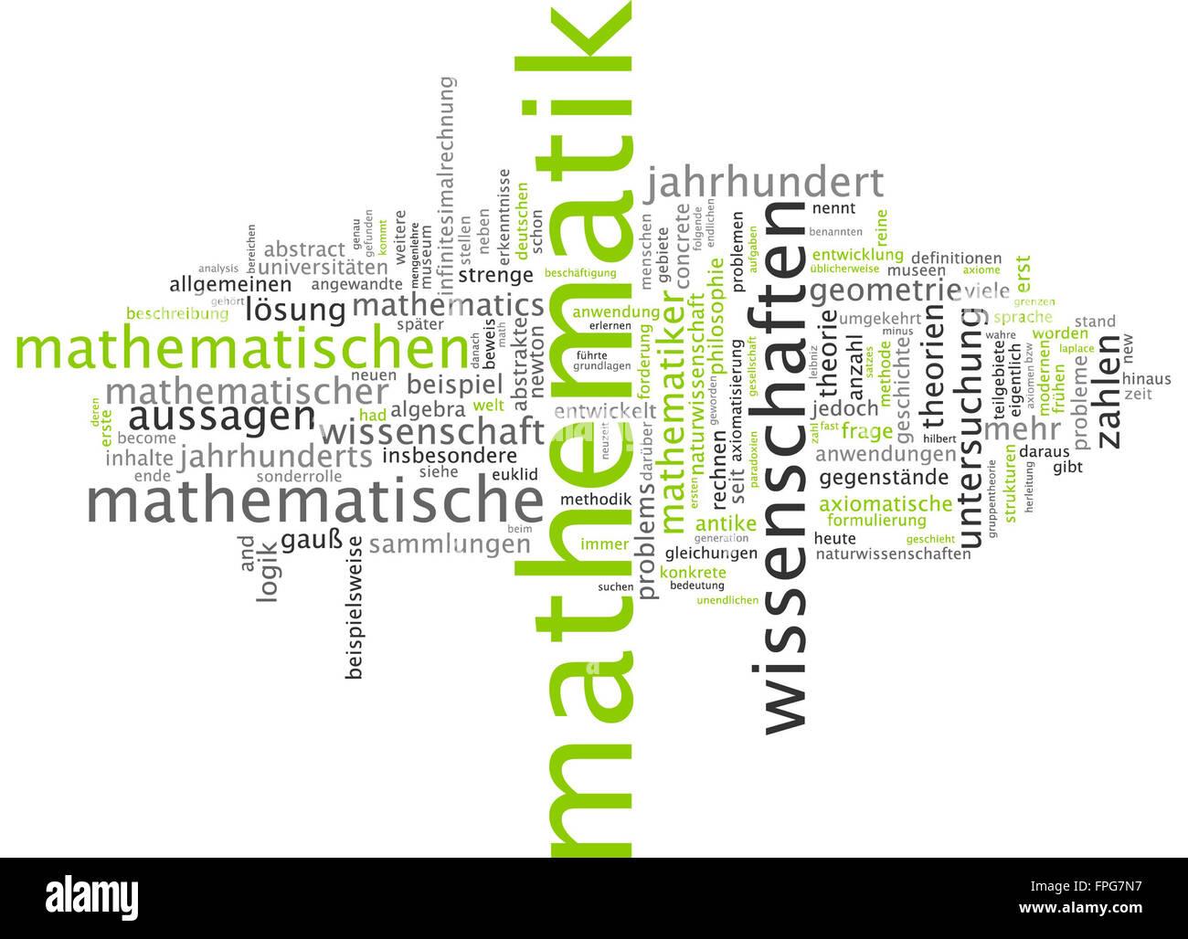 Mathematik Mathe Mathematisch Rechnen Algebra Stock Photo: 99931587 ...