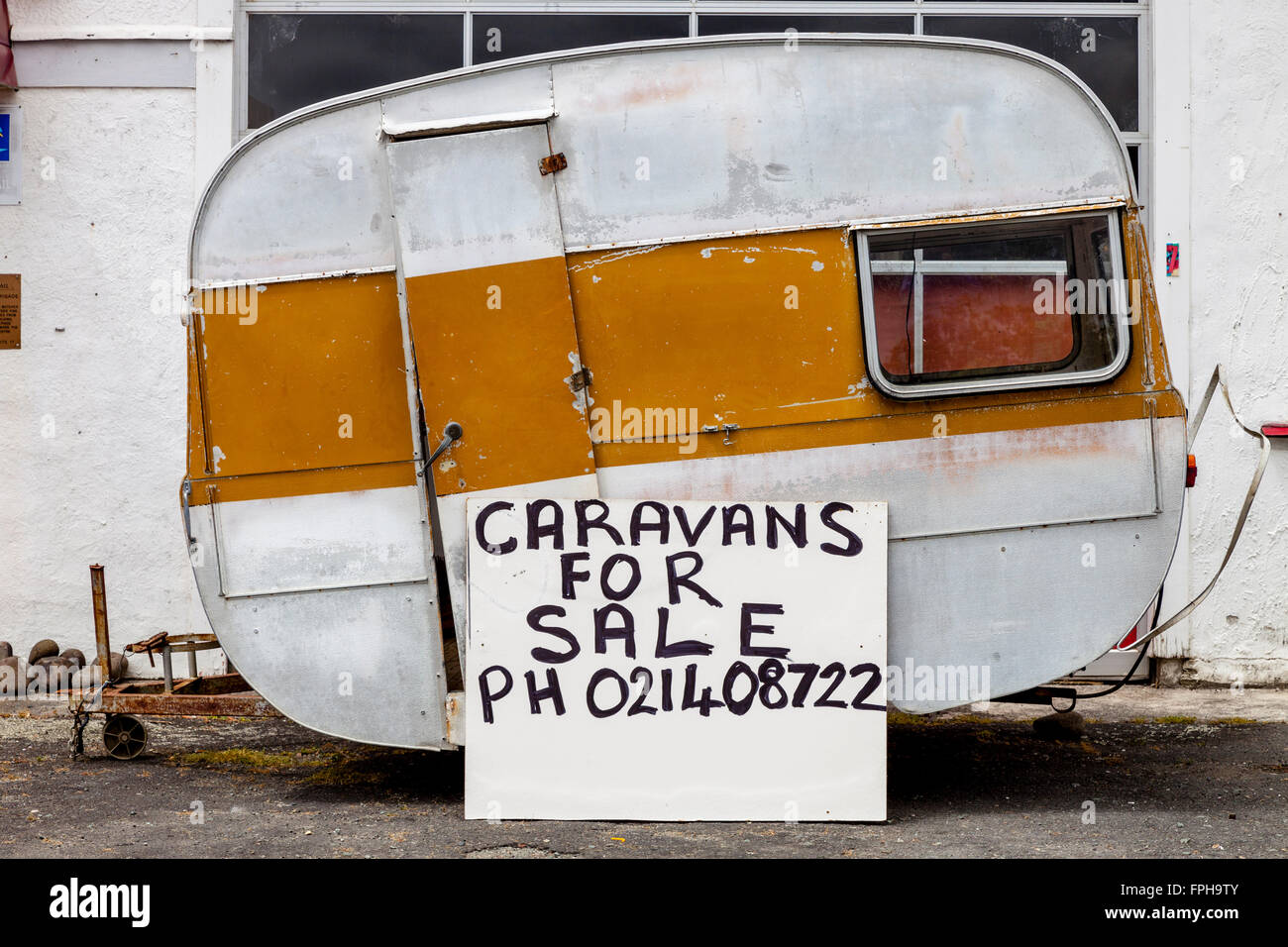 broken  caravan stock  broken  caravan stock images alamy