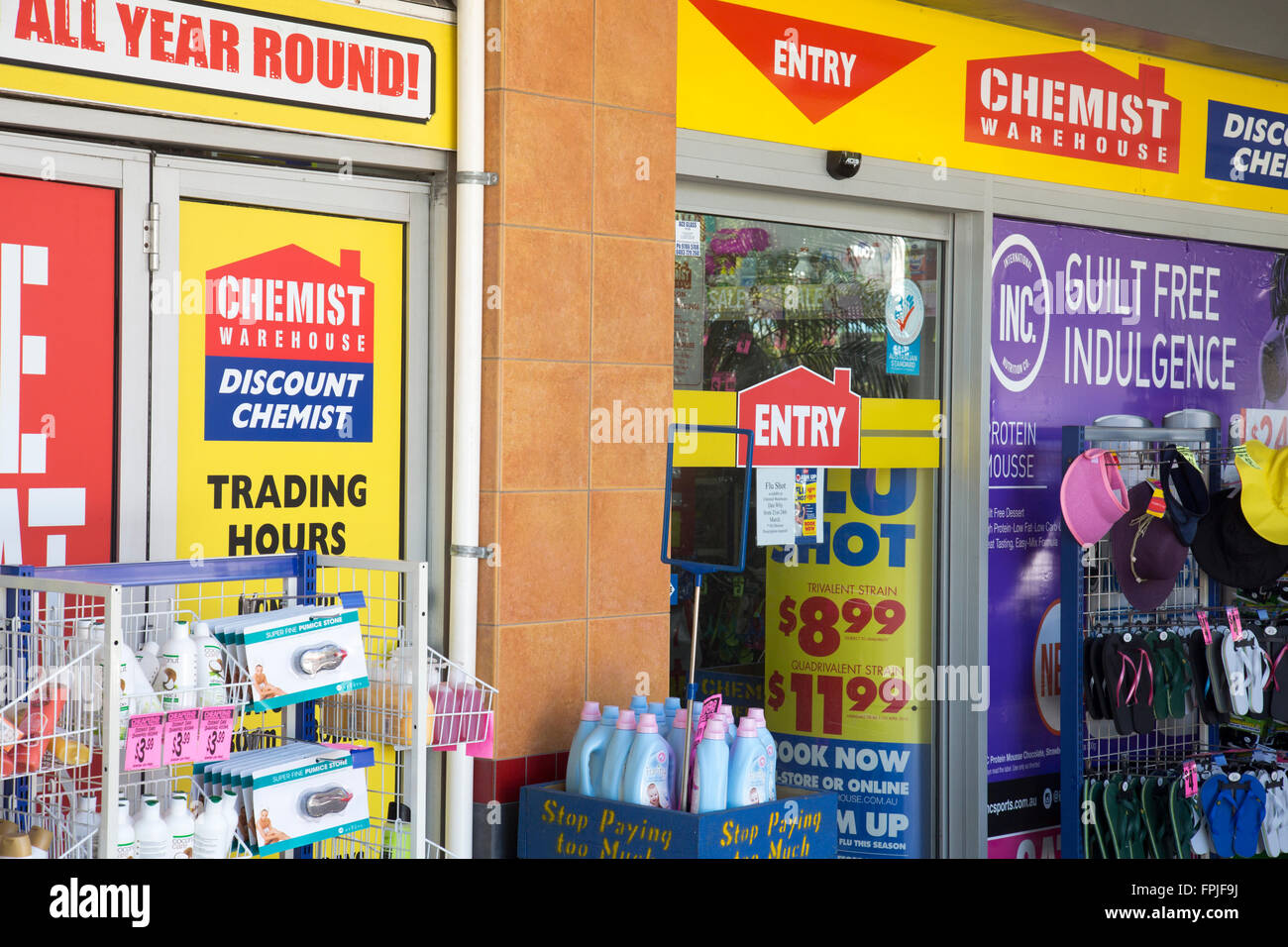 289168337fe Chemist Warehouse, chain of pharmacies in Australia - Stock Image