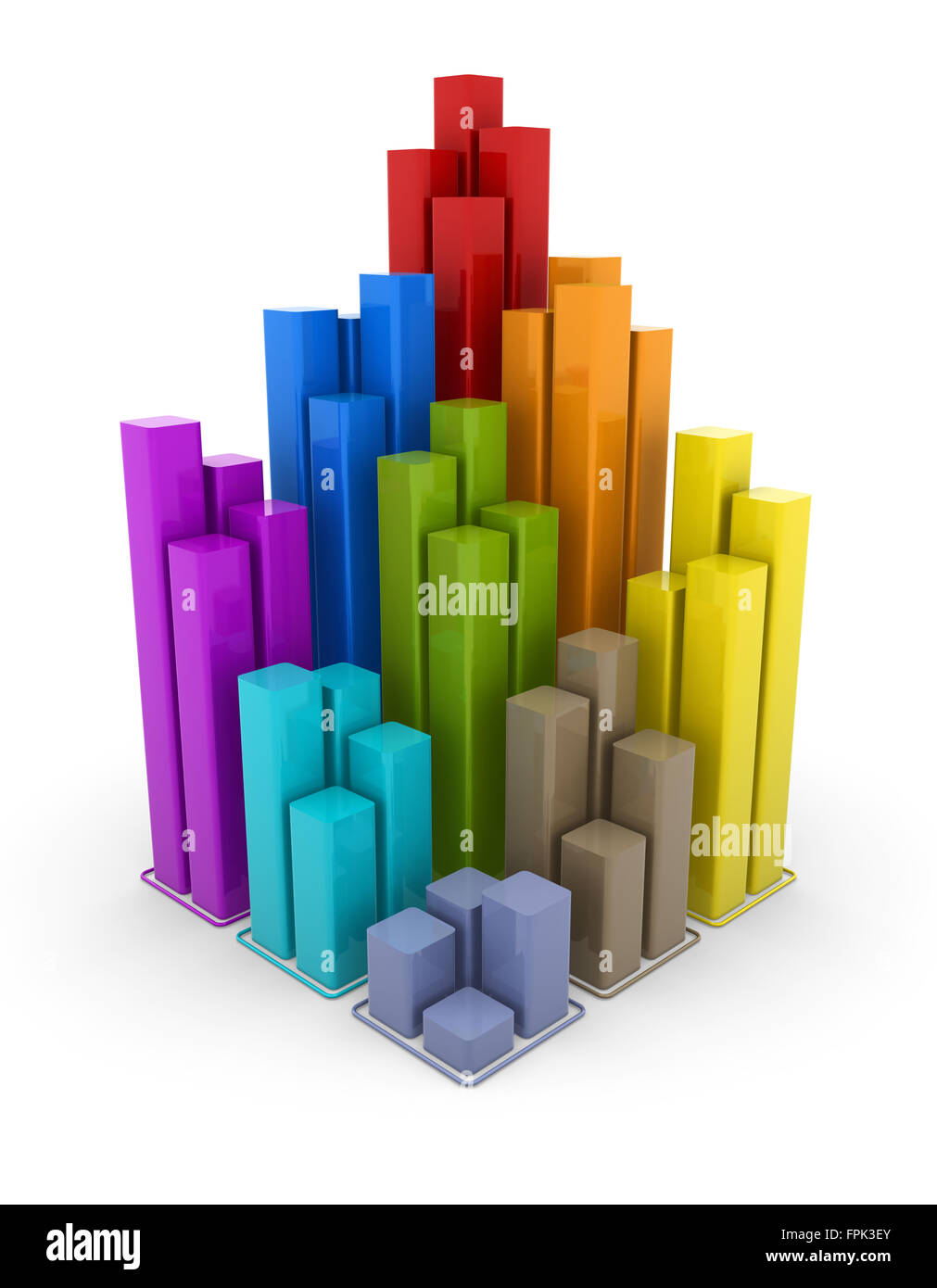 Colorful 3d Block Chart Graph High Resolution Stock Photography and Images  - Alamy [ 1390 x 1011 Pixel ]