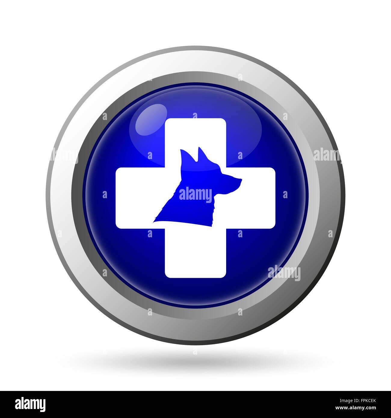 Veterinary icon - Stock Image
