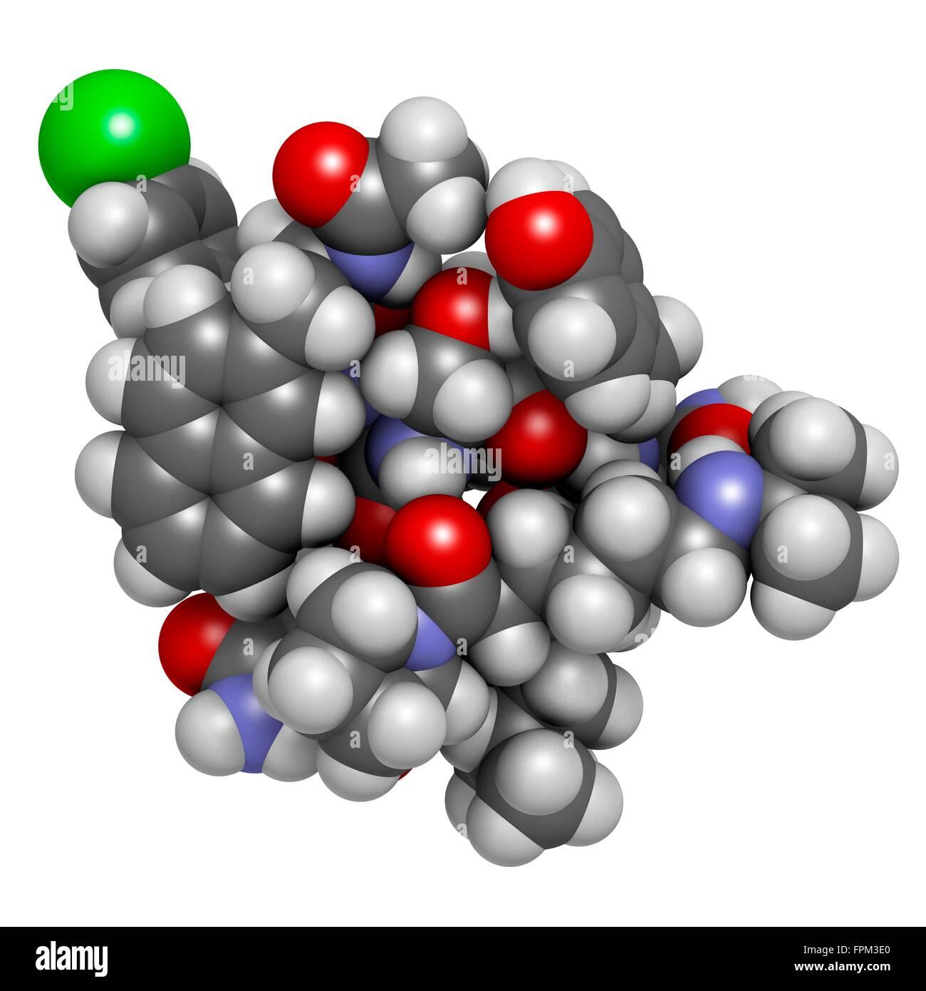 Abarelix drug molecule (g adotropin-releasing horm e GnRH