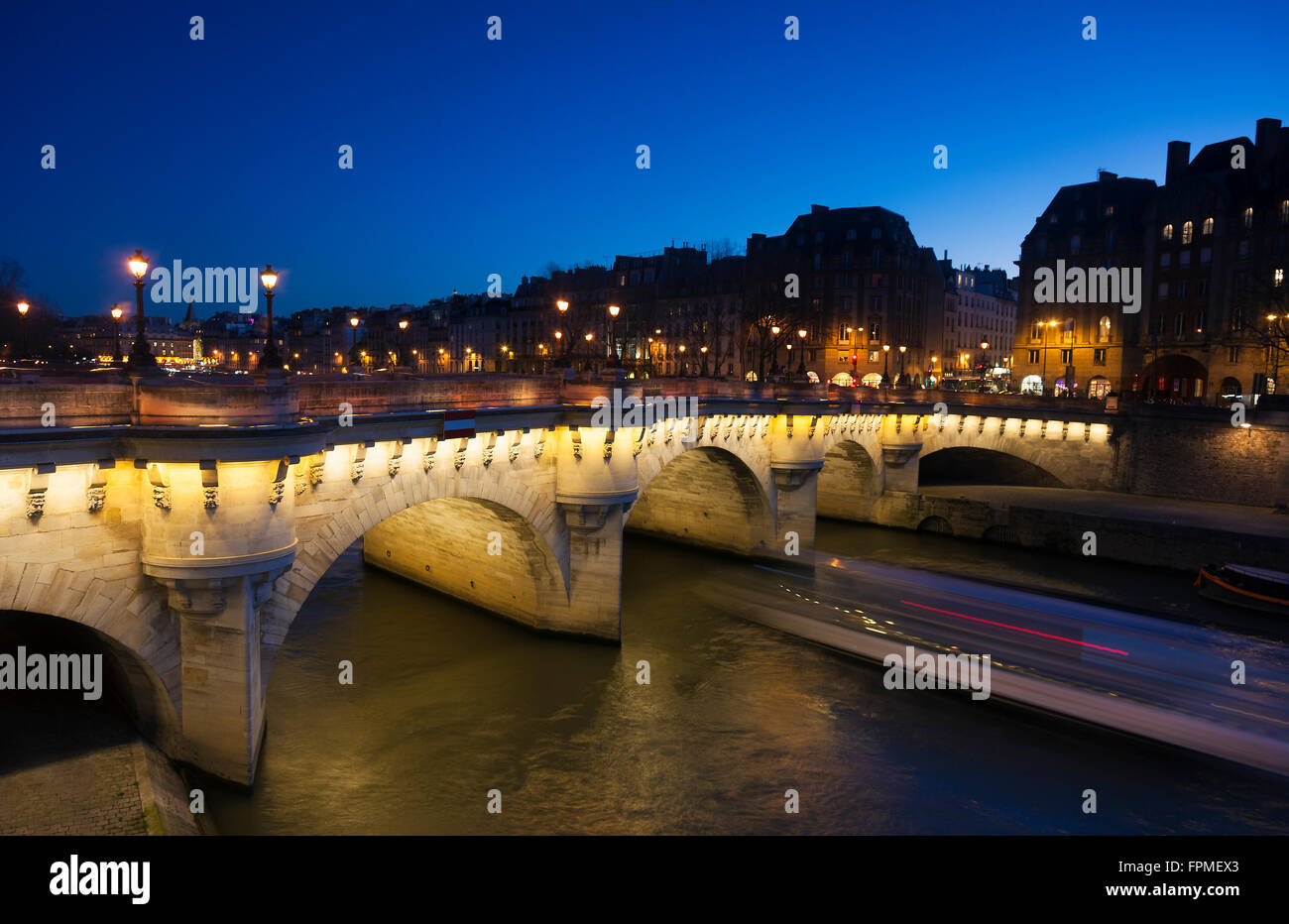 Pont Neuf, Paris, France - Stock Image