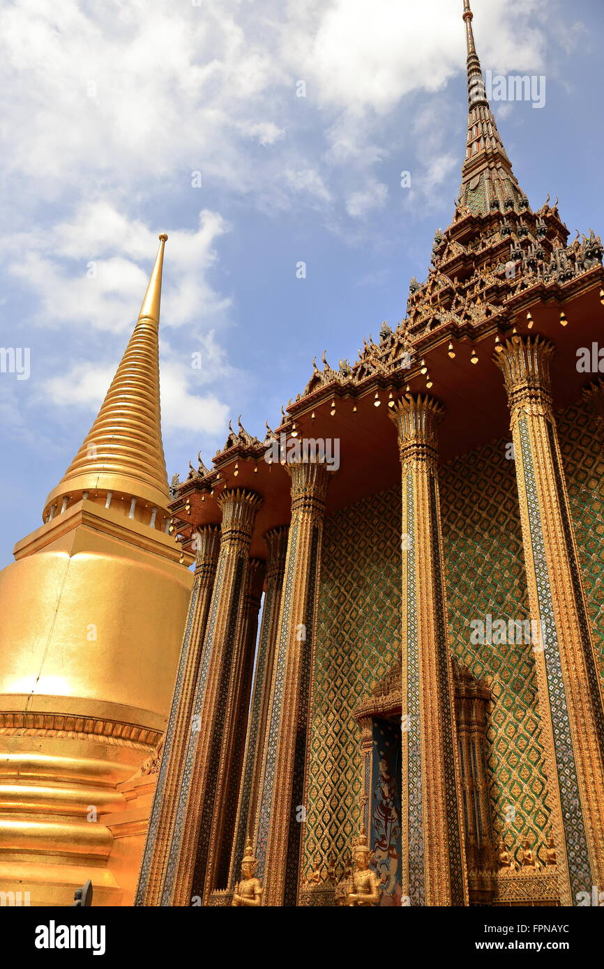 royal palace-bangkok II - Stock Image