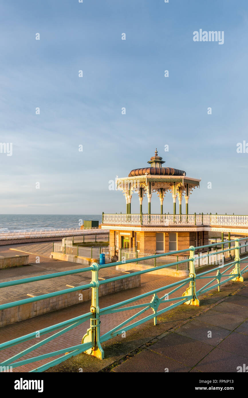 Vertical of the Bandstand - Stock Image