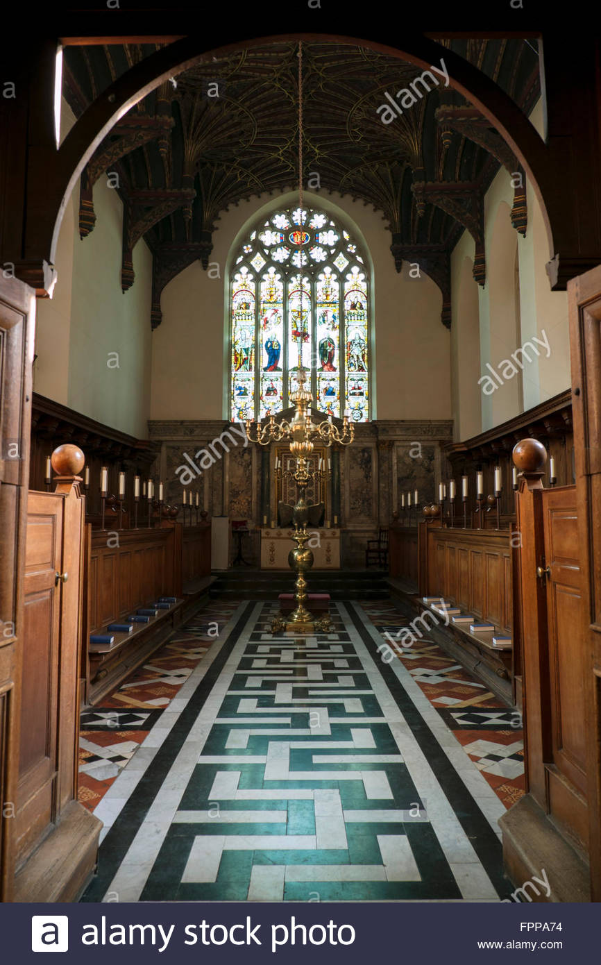 Brasenose chapel, Brasenose college, Oxford - Stock Image