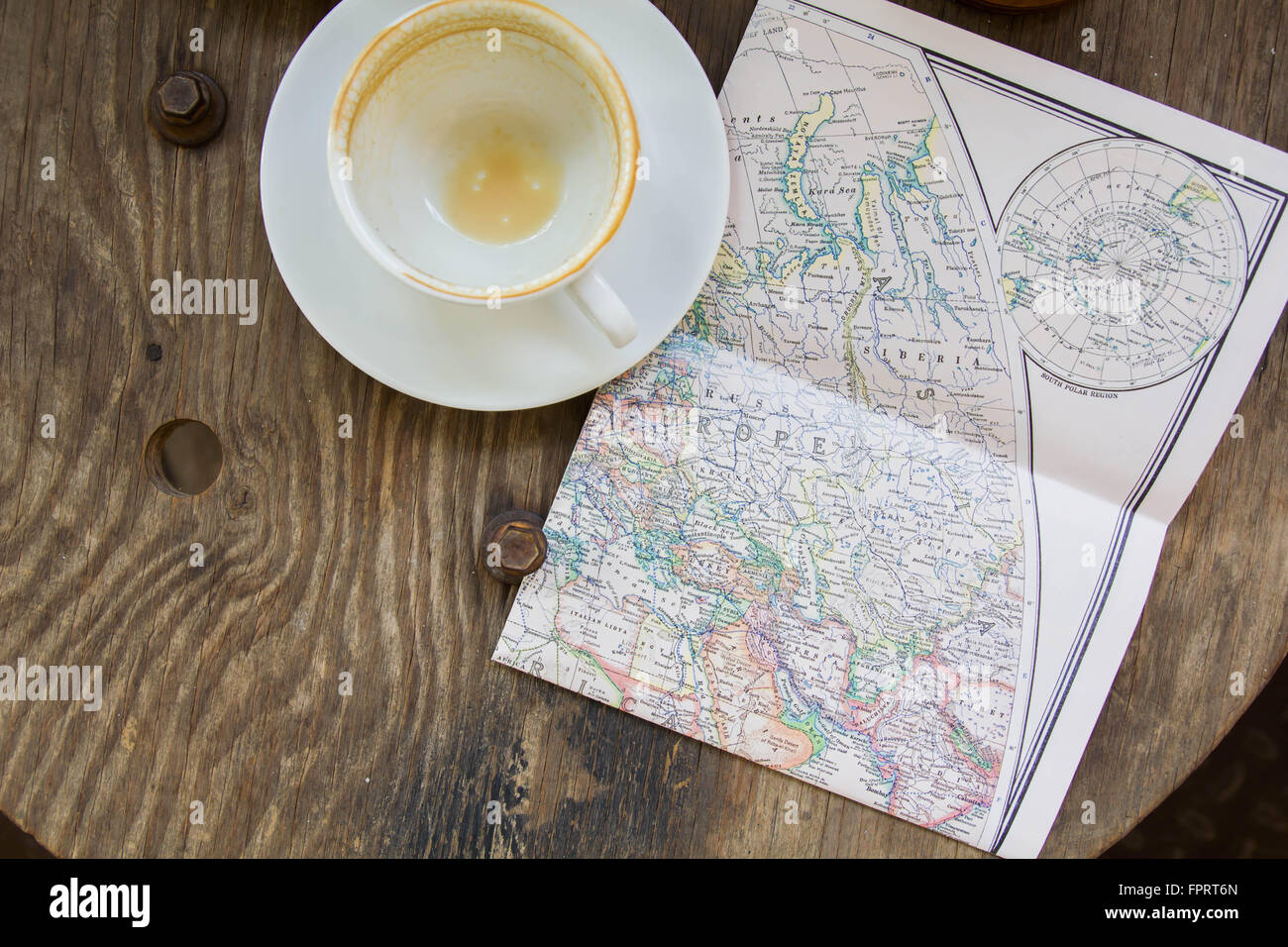 Empty coffee cup and the old map, Europe and travel - top view Stock on empty map usa, empty continent map, turkey map europe, empty india map, printable outline maps europe, large printable blank map europe, historical outline maps of europe, countries of europe, empty european map, physical features of europe, graphic maps europe, empty america, empty map united states, blank map mediterranean europe, capital cities of europe, mediterranean sea map europe, google maps europe, current map europe, empty asia map, empty africa map,