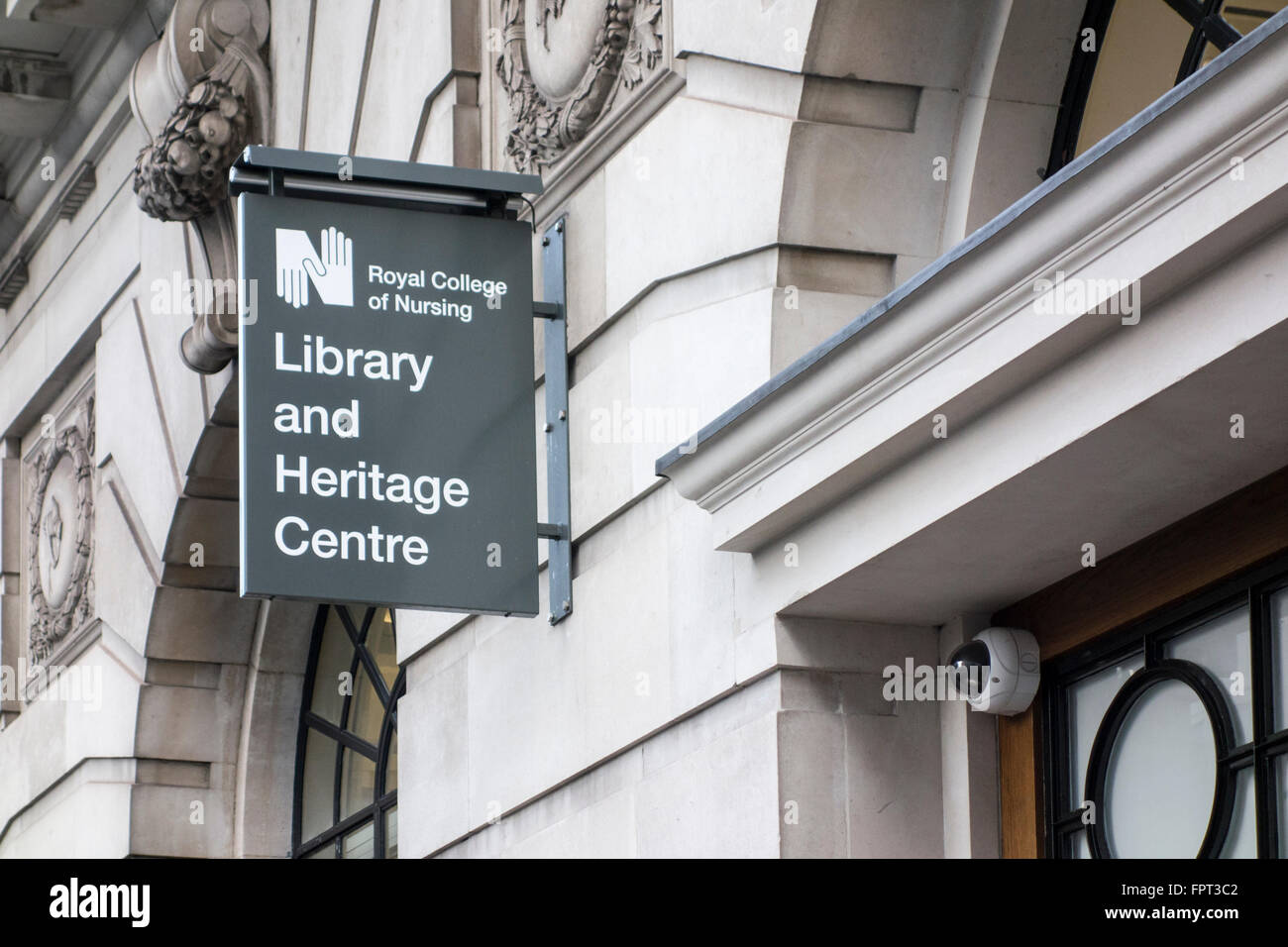 Royal College of Nursing, Library and Heritage Centre, London, UK - Stock Image
