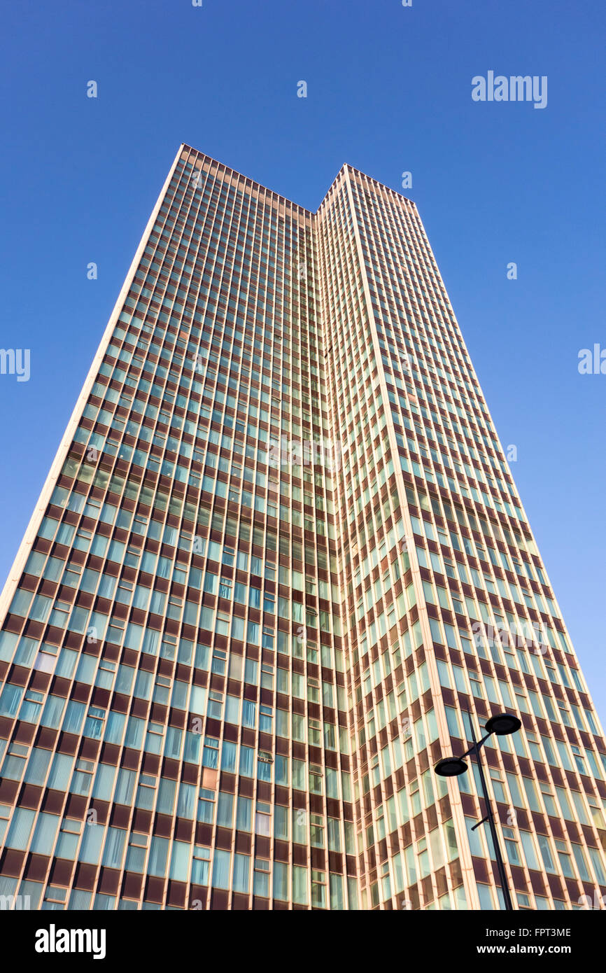 Euston Tower, Euston Road, London, UK - Stock Image