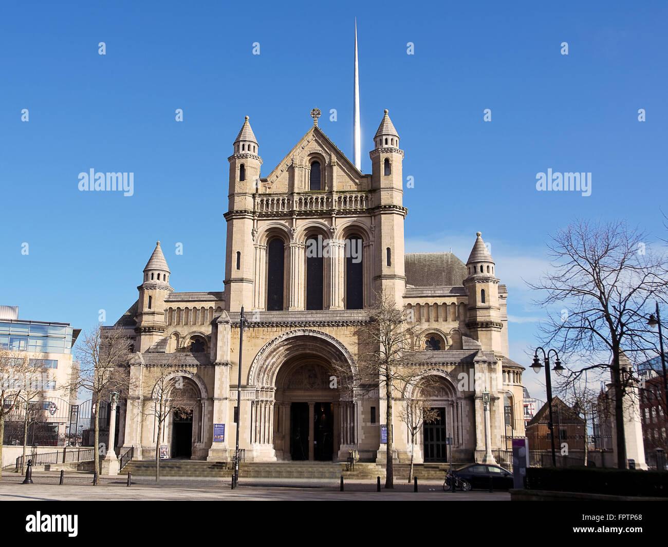 Saint Anne church in Belfast - Stock Image