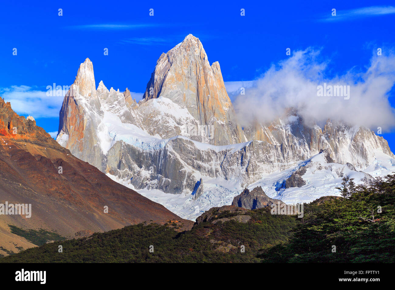 El Chalten, Santa Cruz, Patagonia Argentina Stock Photo