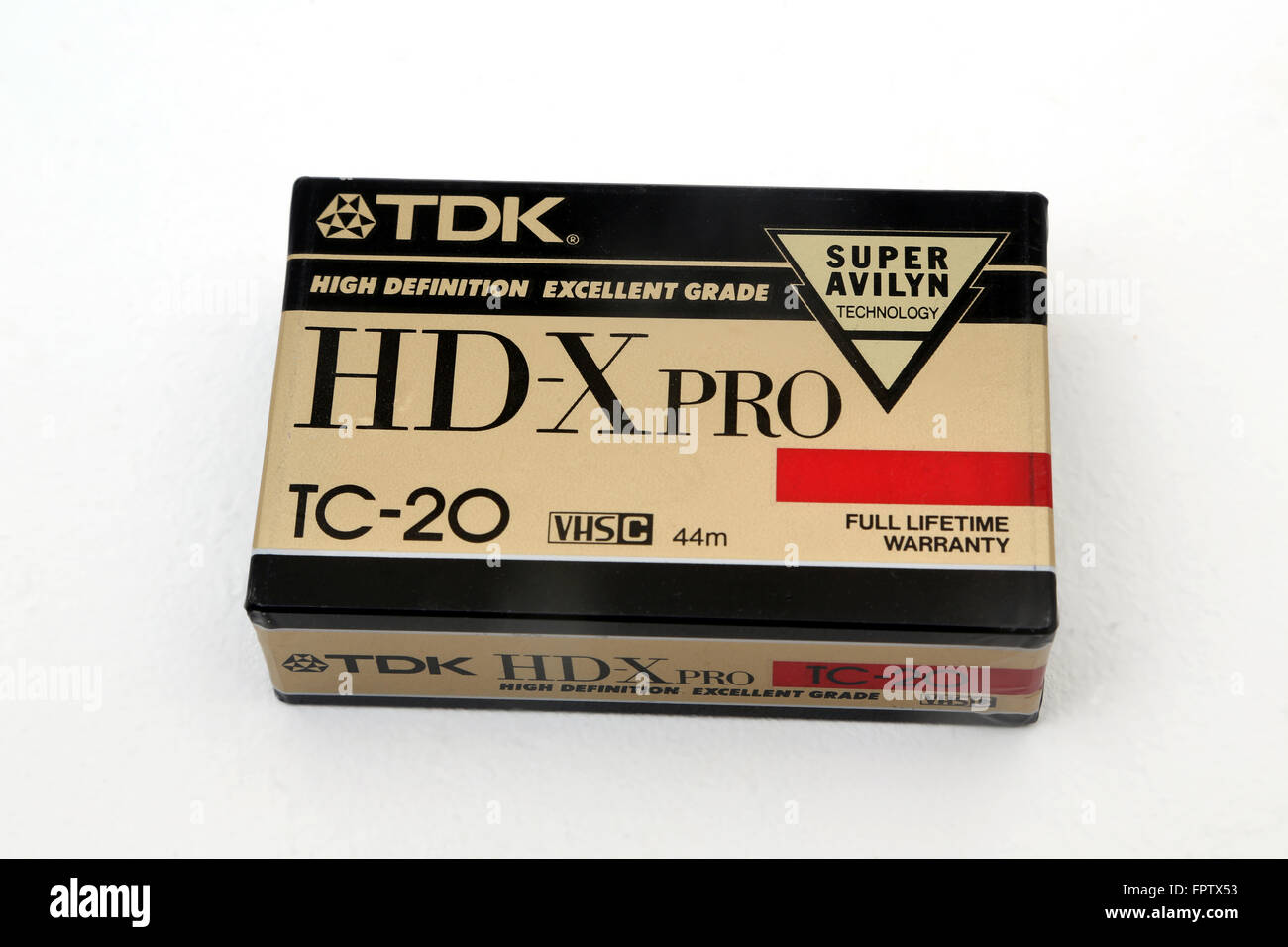 TDK VHS Cassette For Video Cameras - Stock Image