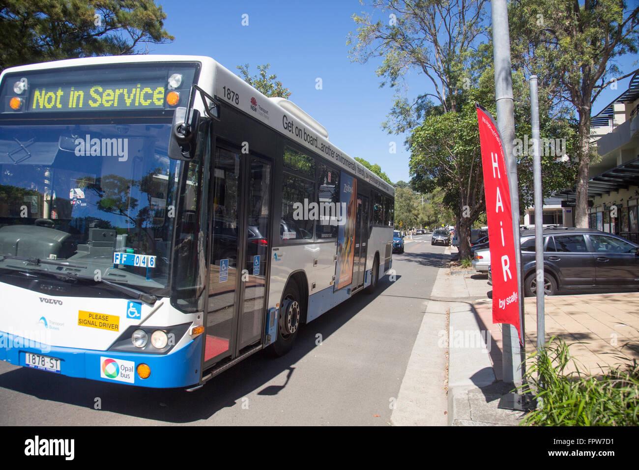 2473e3a8be Sydney public transport bus