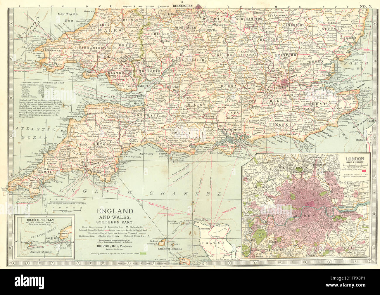 Map Of South England.South England Map Stock Photos South England Map Stock Images Alamy