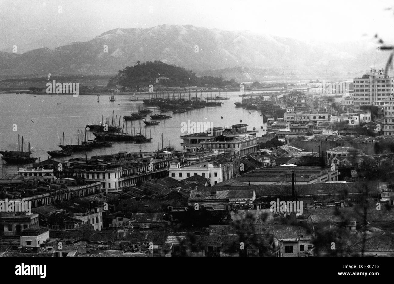 1962 - MACAO Inner Harbor © Keystone Pictures USA/ZUMAPRESS.com/Alamy Live News Stock Photo