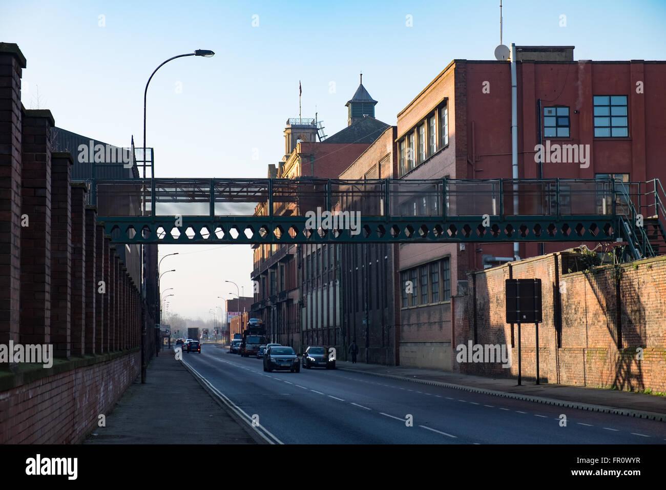 Sheffield steelworks - Stock Image