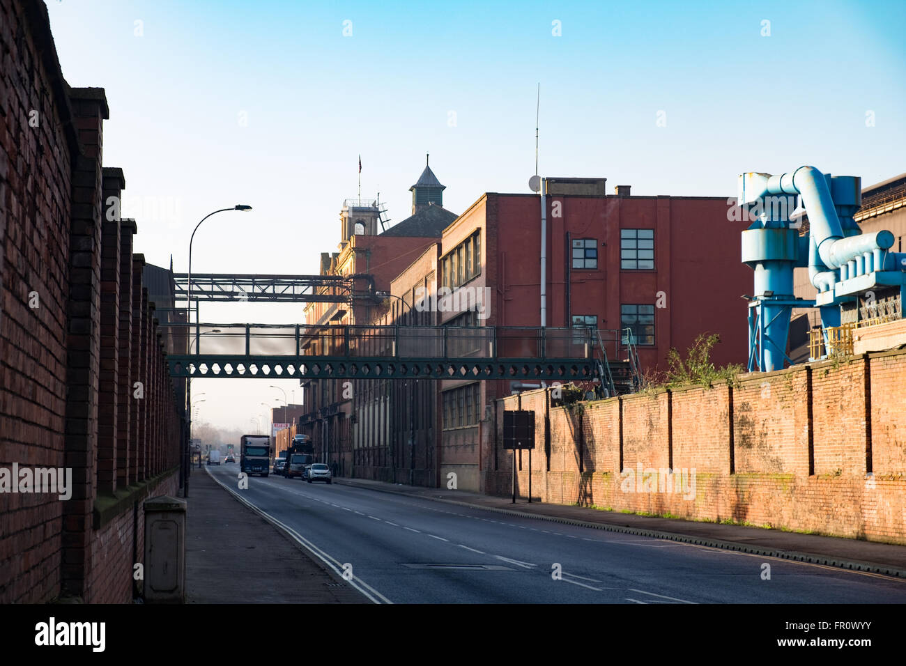 Steelworks at Sheffield, UK - Stock Image