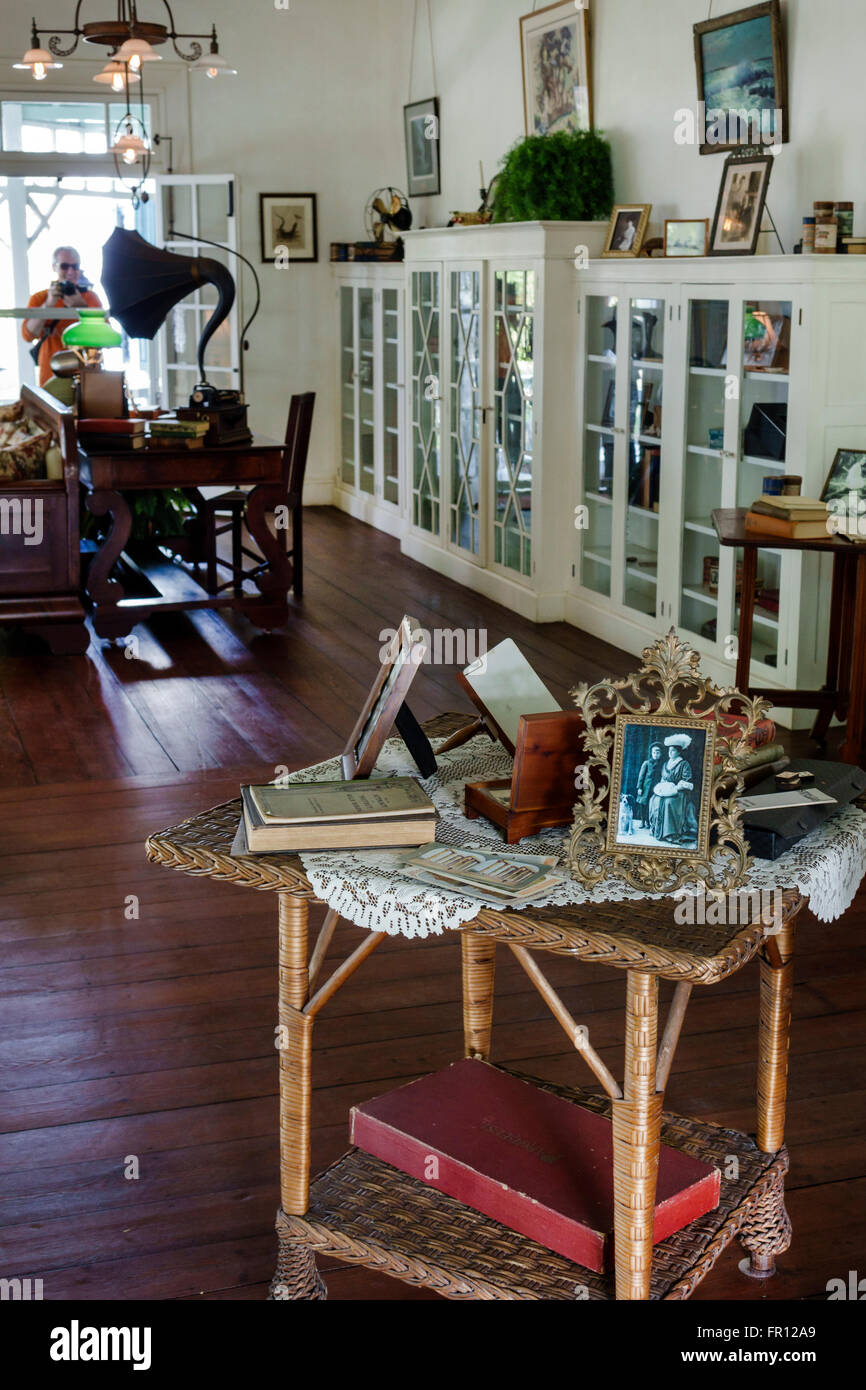 Florida FL Fort Ft. Myers Thomas Edison and Henry Ford Winter Estates historical museum Edison Family Home Seminole Stock Photo