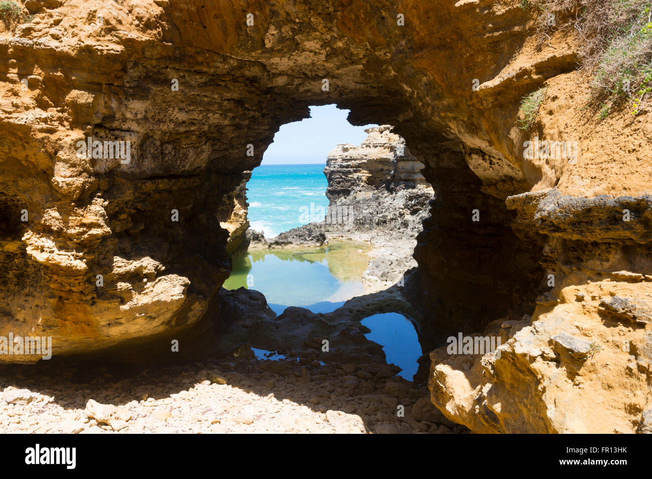 The Grotto, Great Ocean Road, Victoria, VIC, Australia - Stock Image