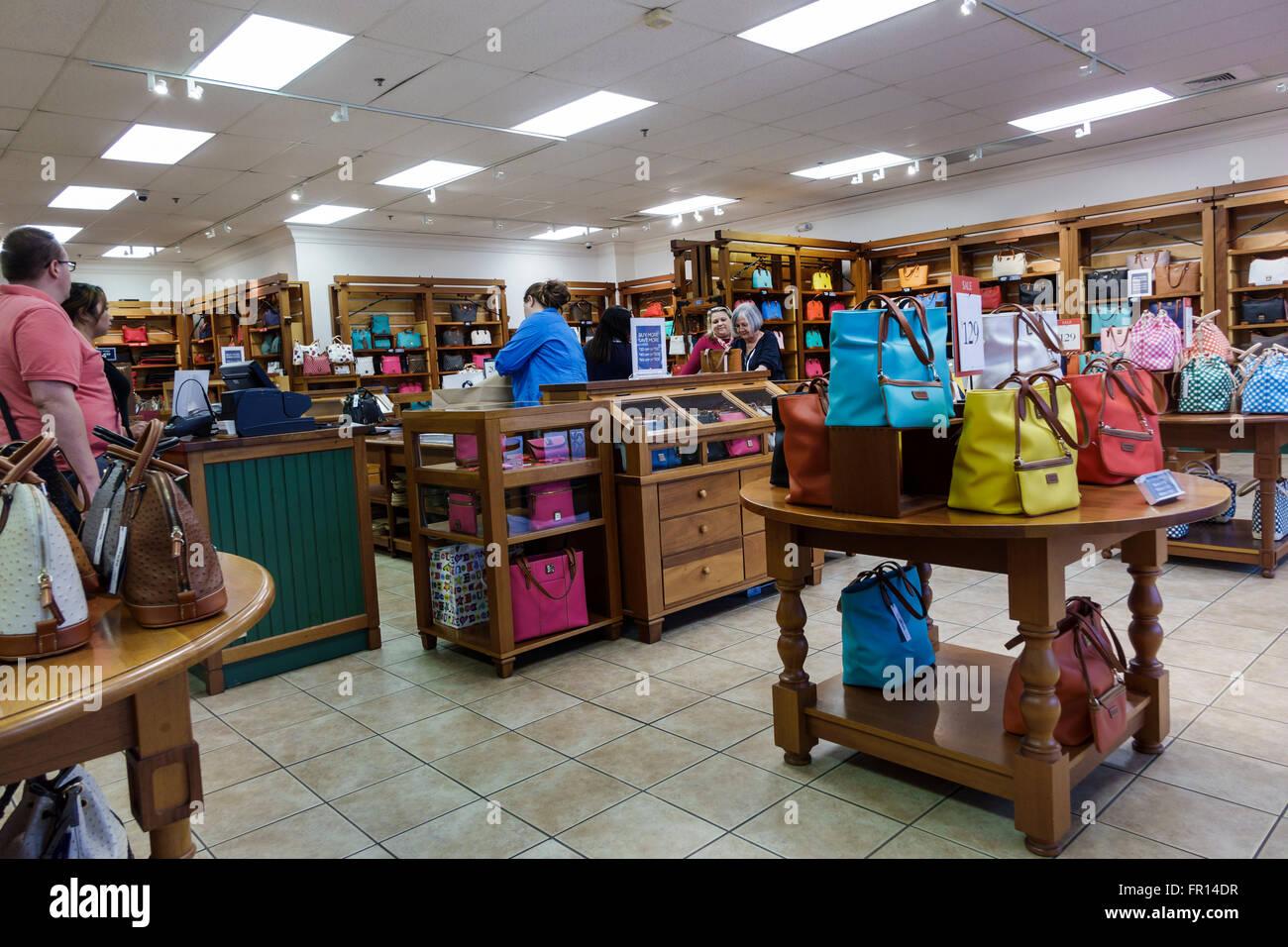 Florida FL Vero Beach Vero Beach Outlets shopping Dooney & Bourke