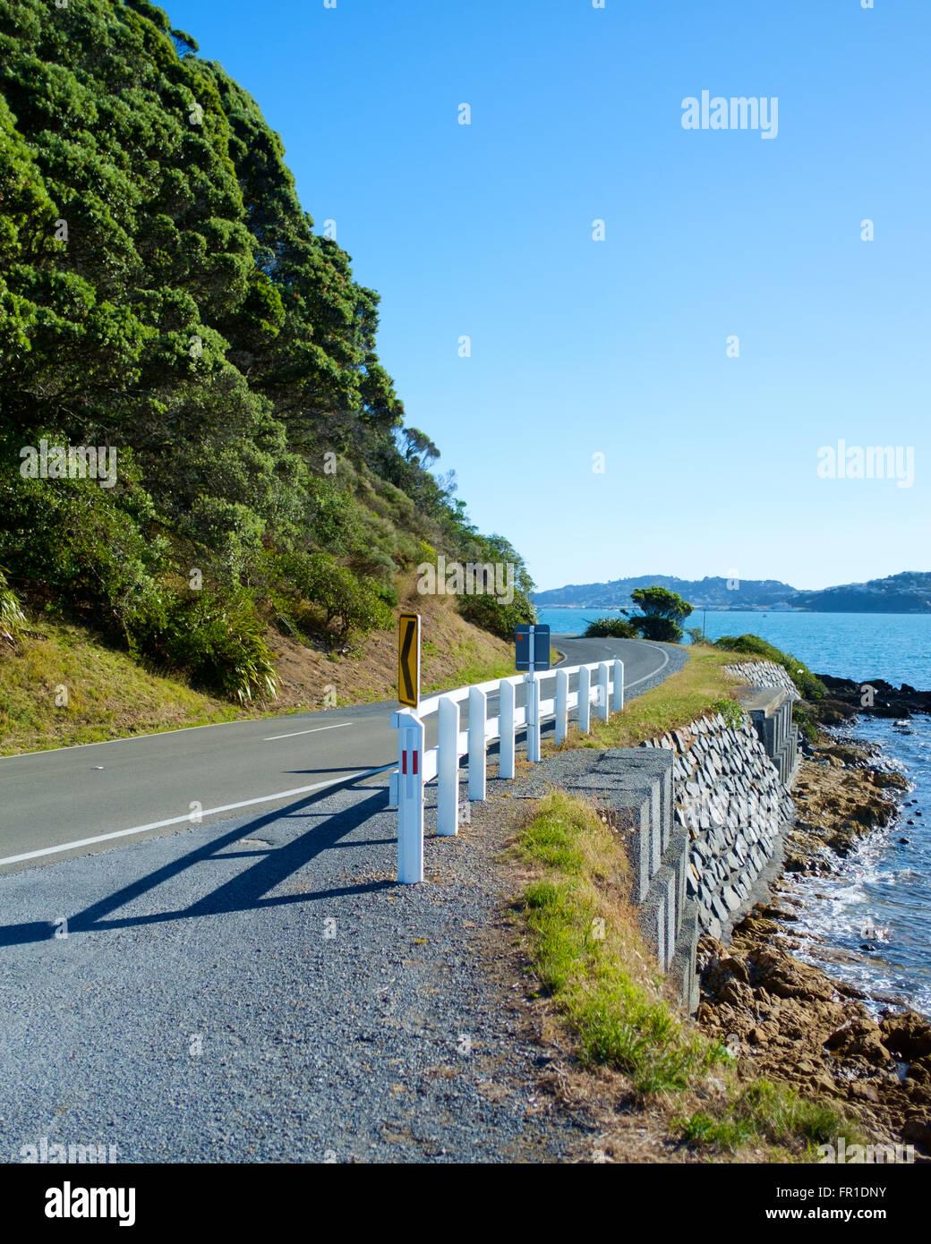 scenery at wellington bay new zealand stock photo 100221687 alamy