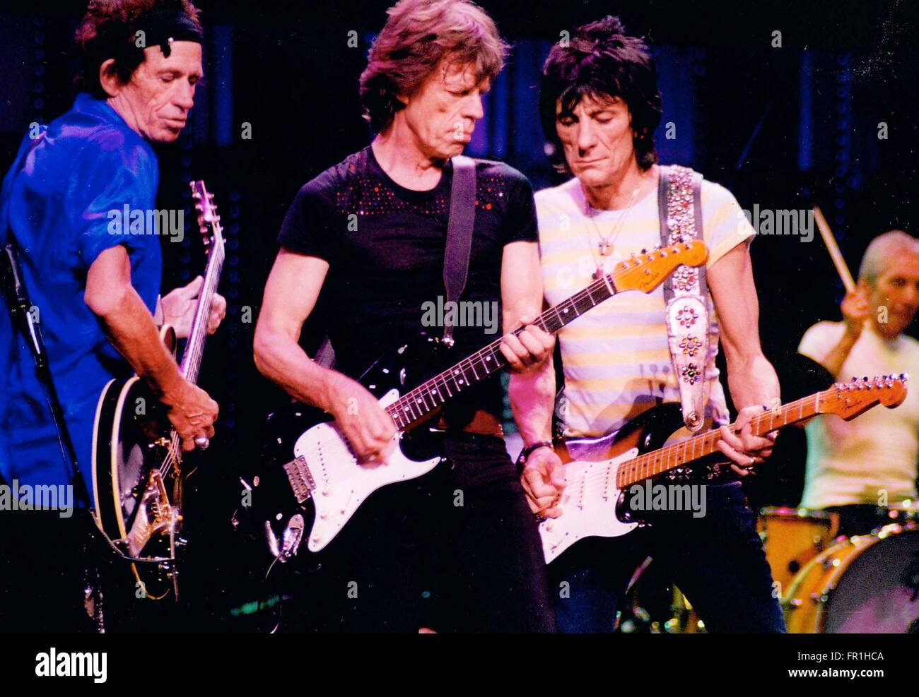 The rolling stones mick jagger keith richards ron wood charlie the rolling stones mick jagger keith richards ron wood charlie watts p madison square garden 1202006 photo michae brito workwithnaturefo