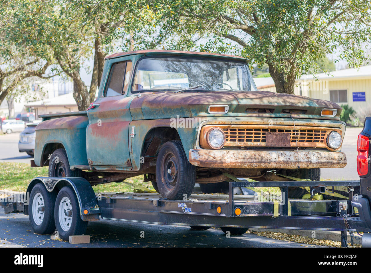Rusty Truck Trailer Stock Photos & Rusty Truck Trailer Stock Images ...