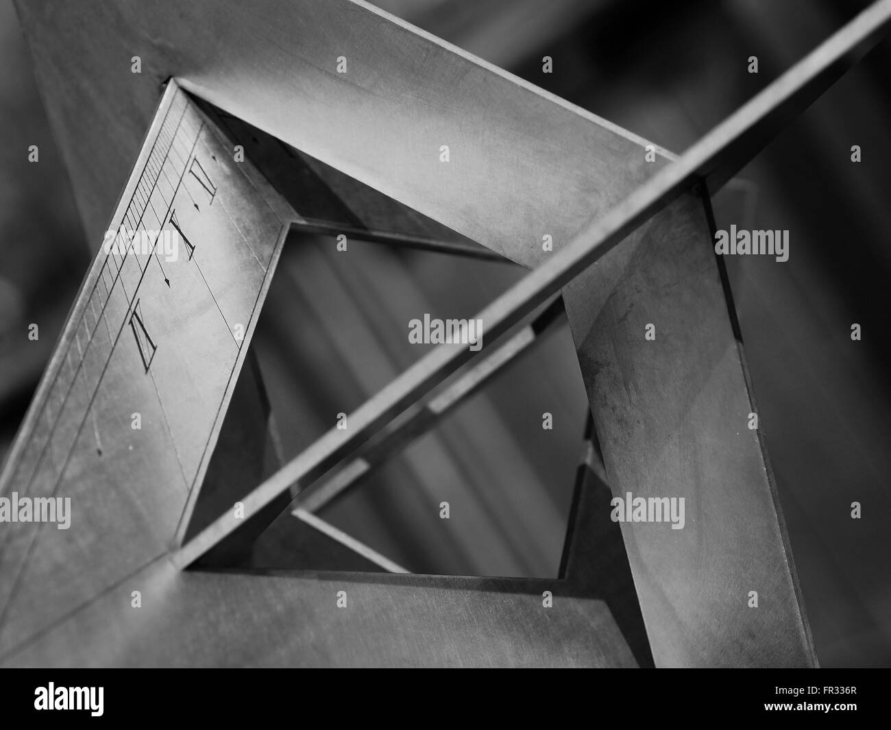 Sun Dial Abstract - Stock Image