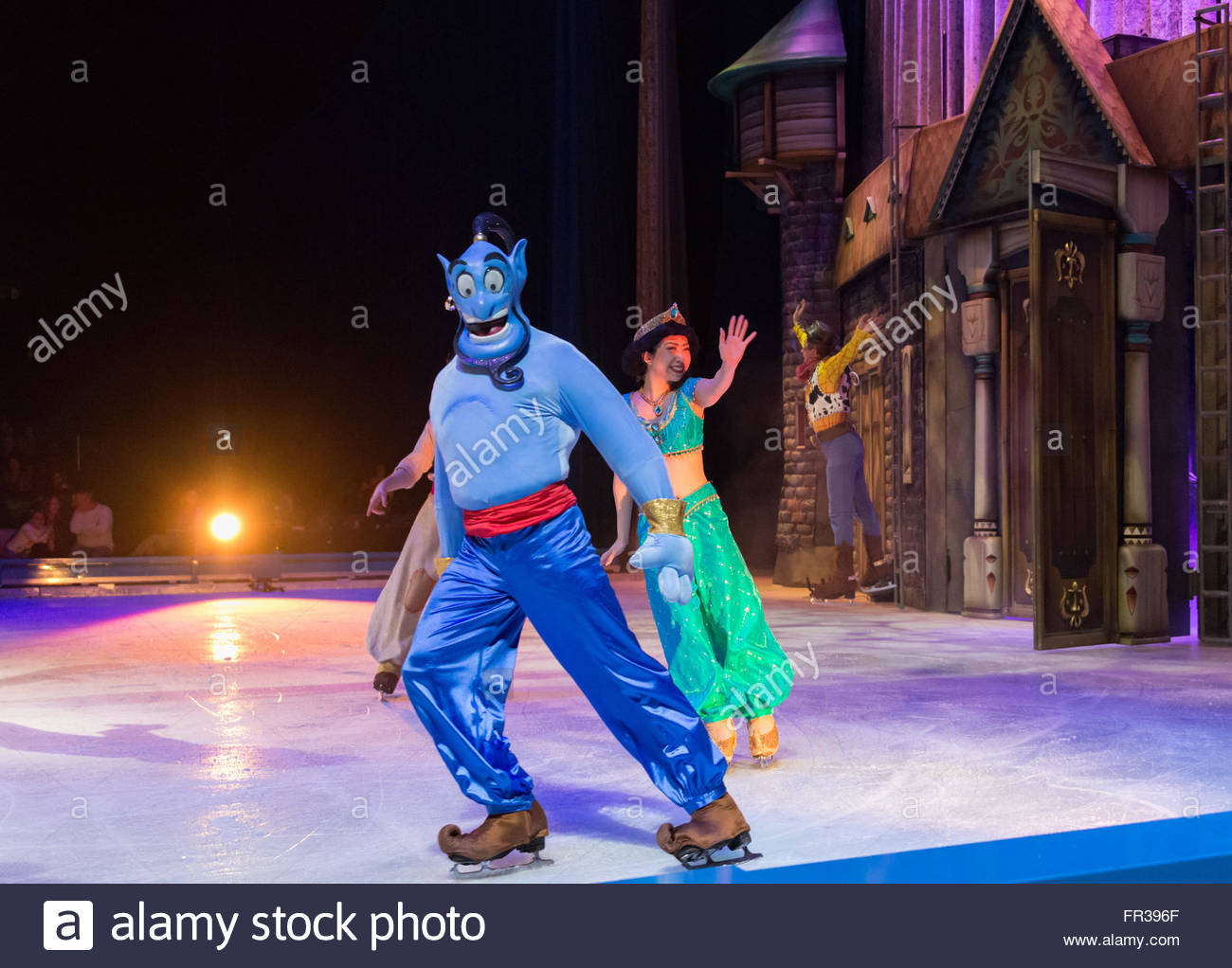 scenes from aladdin disney on ice celebrates 100 hundred years of
