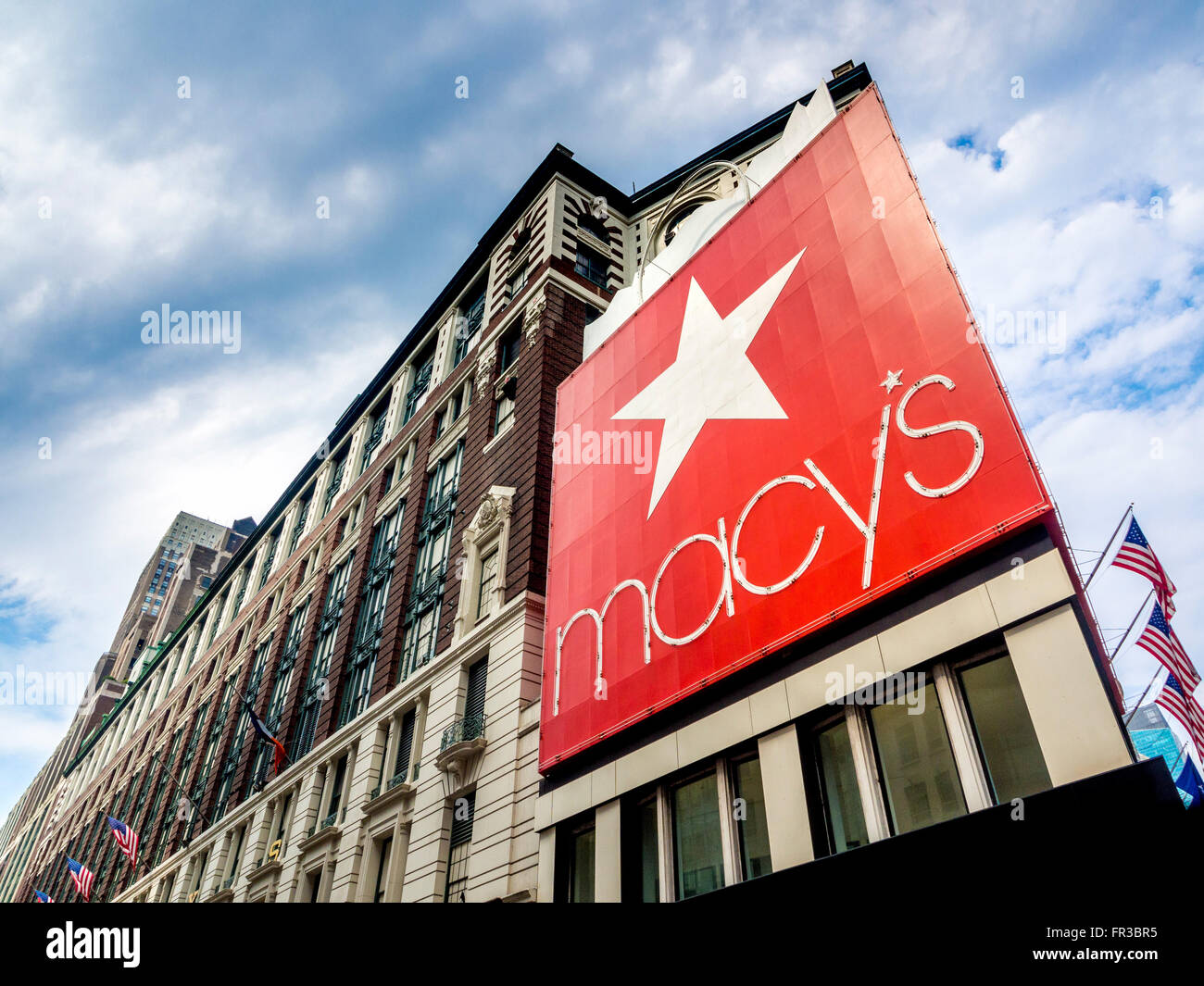 Macy's Department Store, New York City, USA. - Stock Image