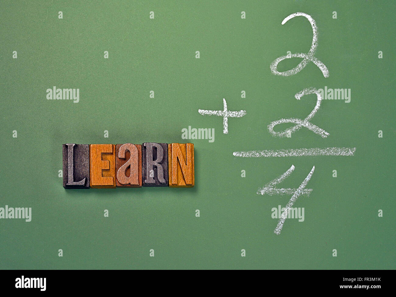 Math Problem Chalkboard Stock Photos & Math Problem Chalkboard Stock ...