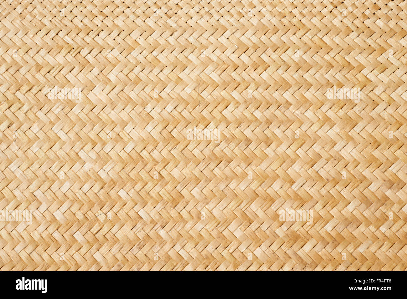 Traditional New Zealand flax weaving, detail of a woven ...