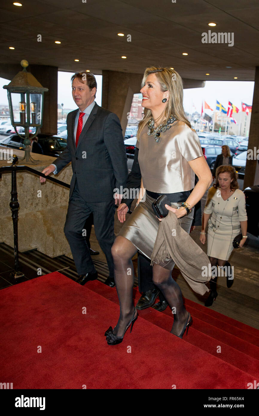 Queen Maxima of The Netherlands attends the award ceremony of the Dutch Prix Verve Clicquot Business Women of the Stock Photo