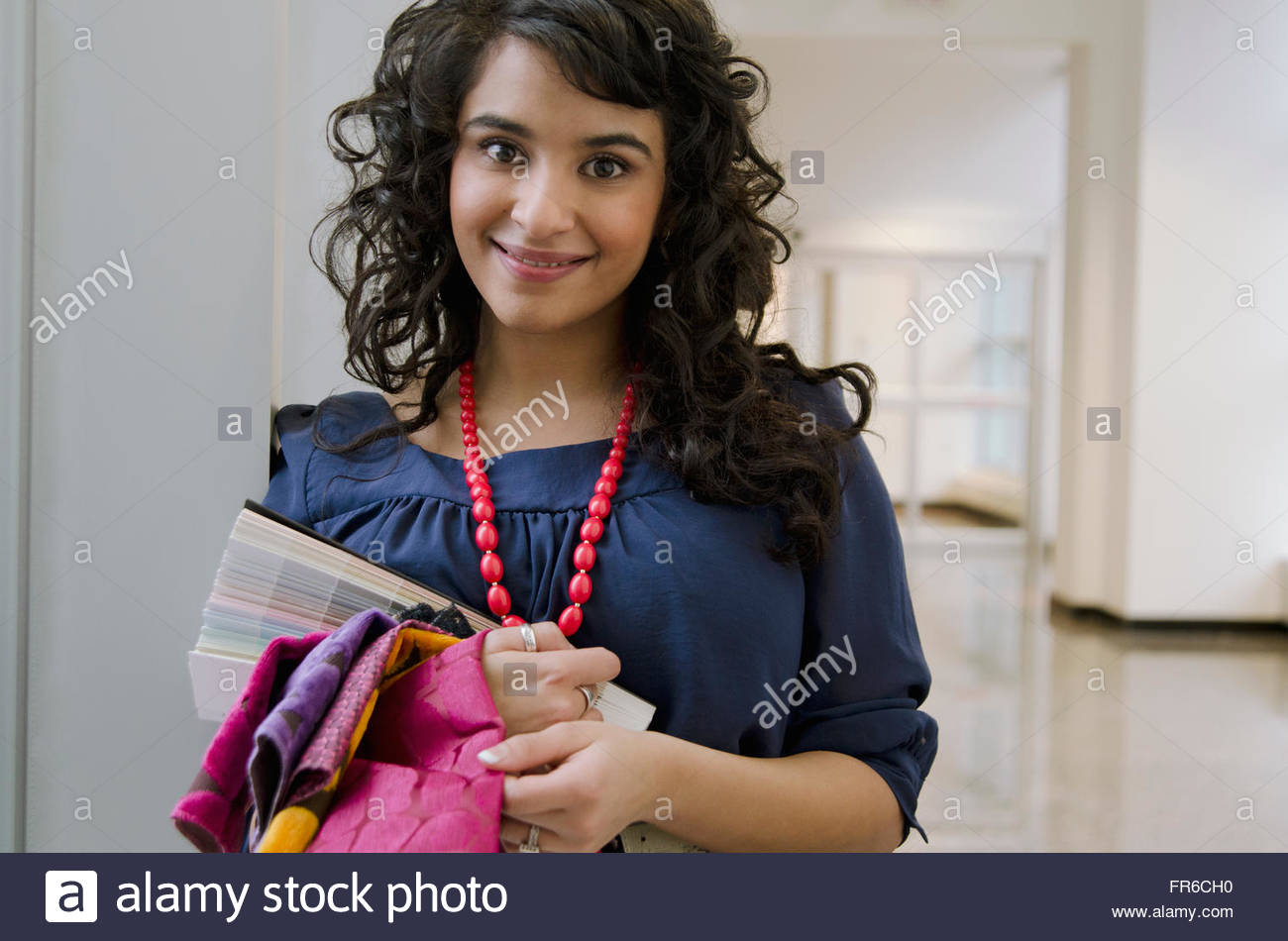 design consultant working - Stock Image
