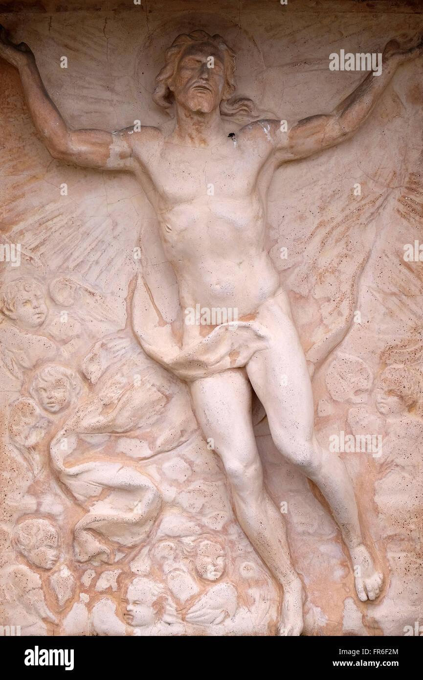 Christ Angel Resurrection Stock Photos & Christ Angel Resurrection ...