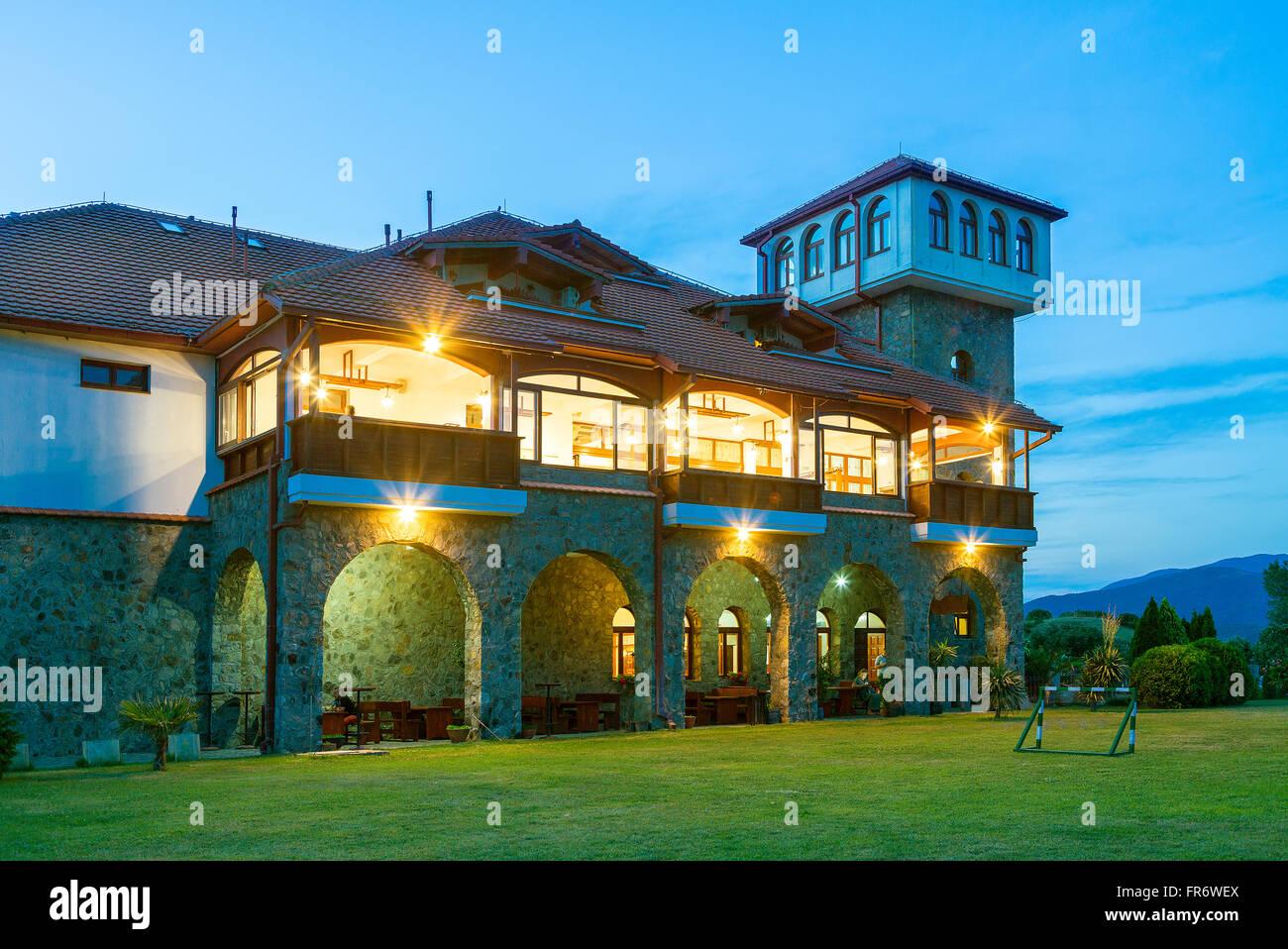 Republic of Macedonia, wine region Demir Kapija, Popova Kula winery - Stock Image
