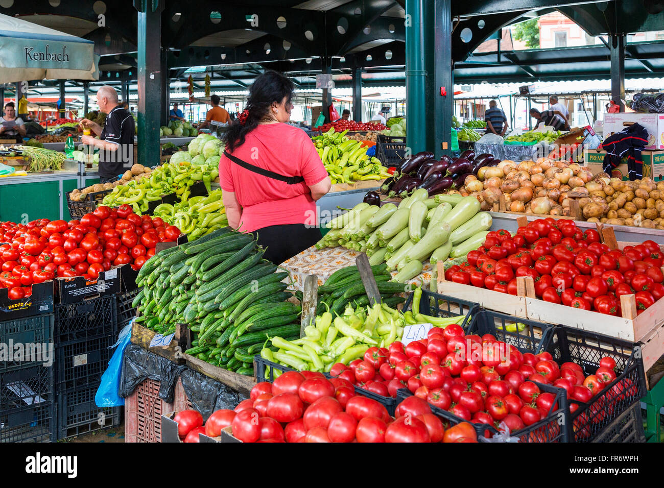 Republic of Macedonia, Bitola, the city center, the Old Bazaar - Stock Image