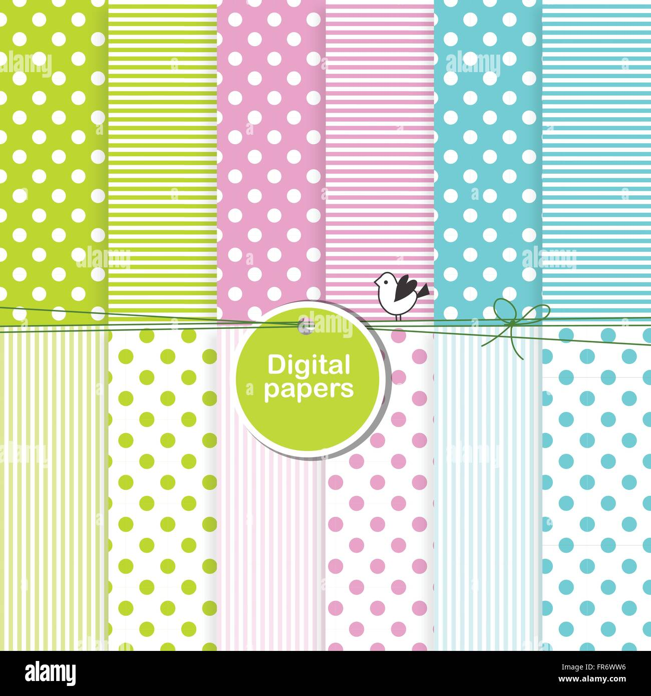 Digital Scrapbook Page High Resolution Stock Photography And Images Alamy