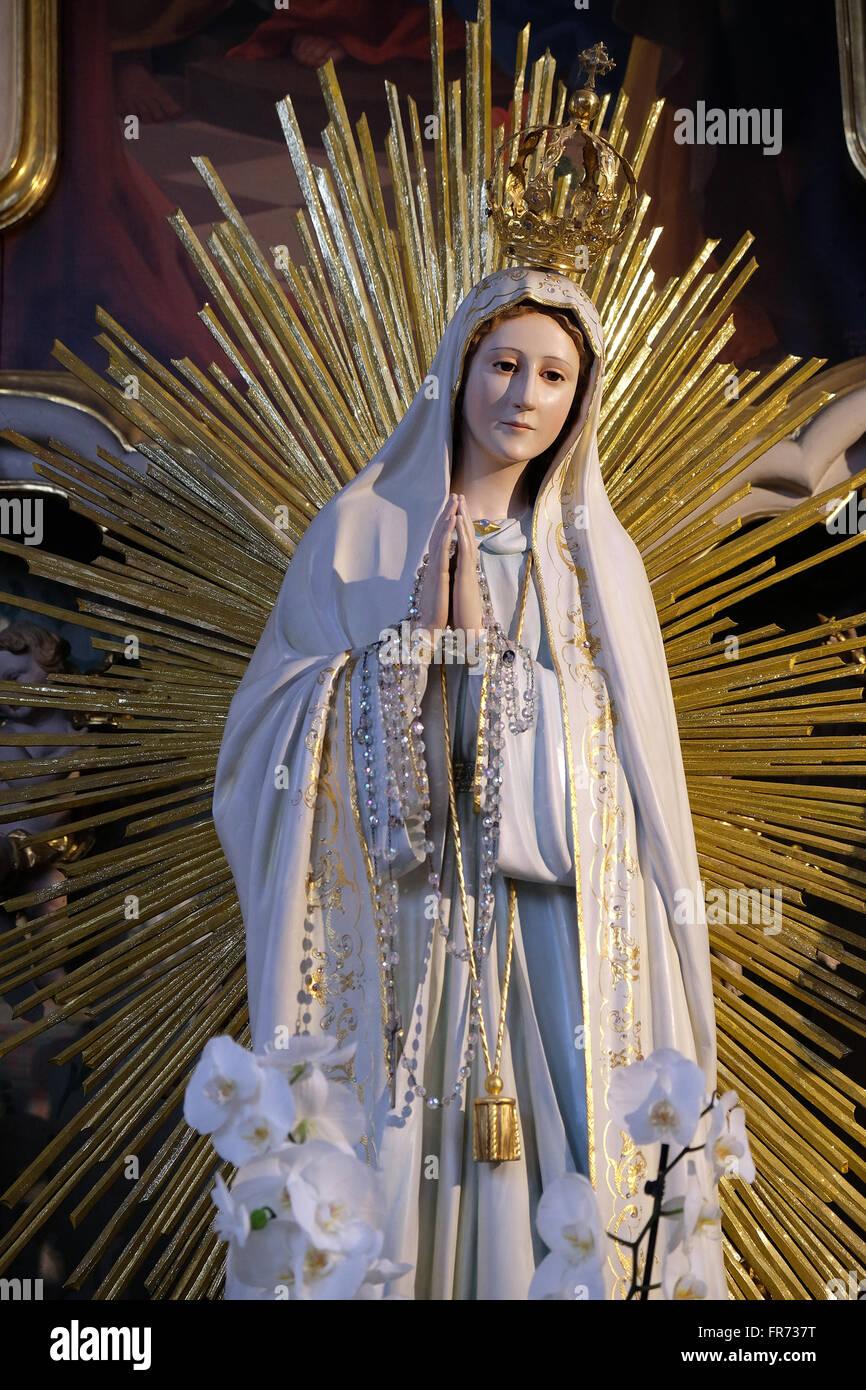 Our Lady of Fatima, Maria Vesperbild Church in Ziemetshausen ...