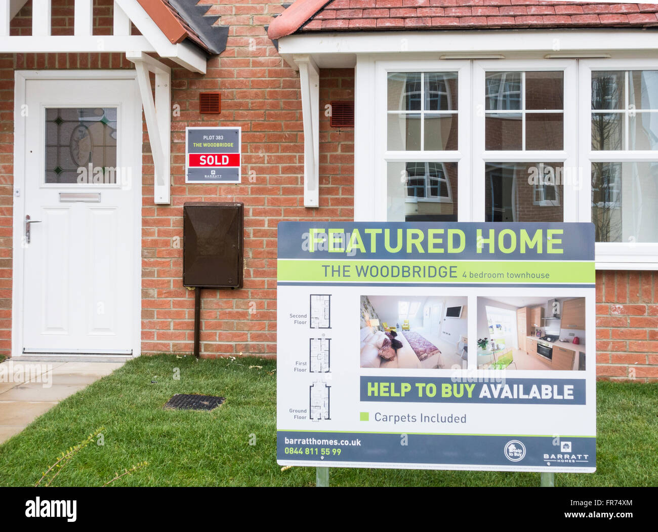 Barratt Homes High Resolution Stock Photography And Images Alamy