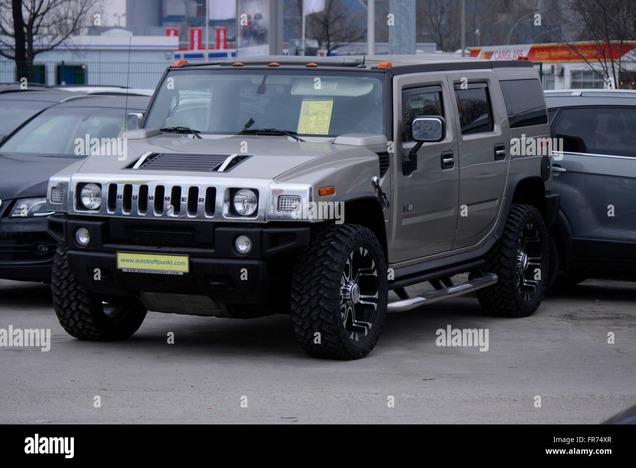 Markenname: 'Hummer', Berlin. - Stock Image