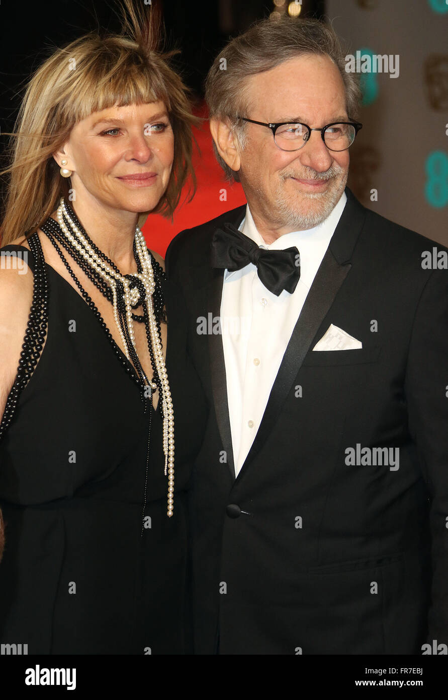 Kate Capshaw And Steven Spielberg Oscars 2016 Arrivals Oscars 2016 From The Classic Fm