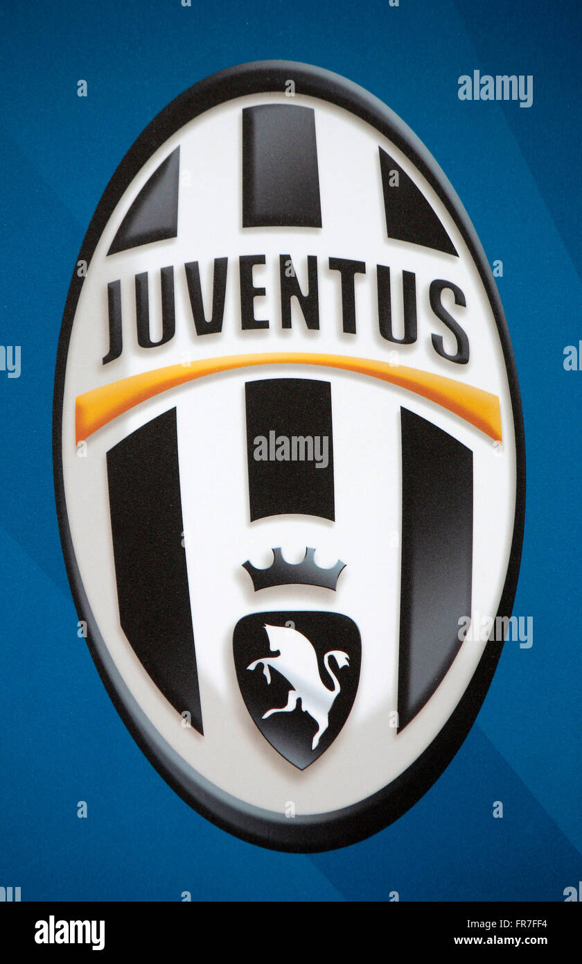 das Logo von 'Juventus Turin', Berlin. - Stock Image