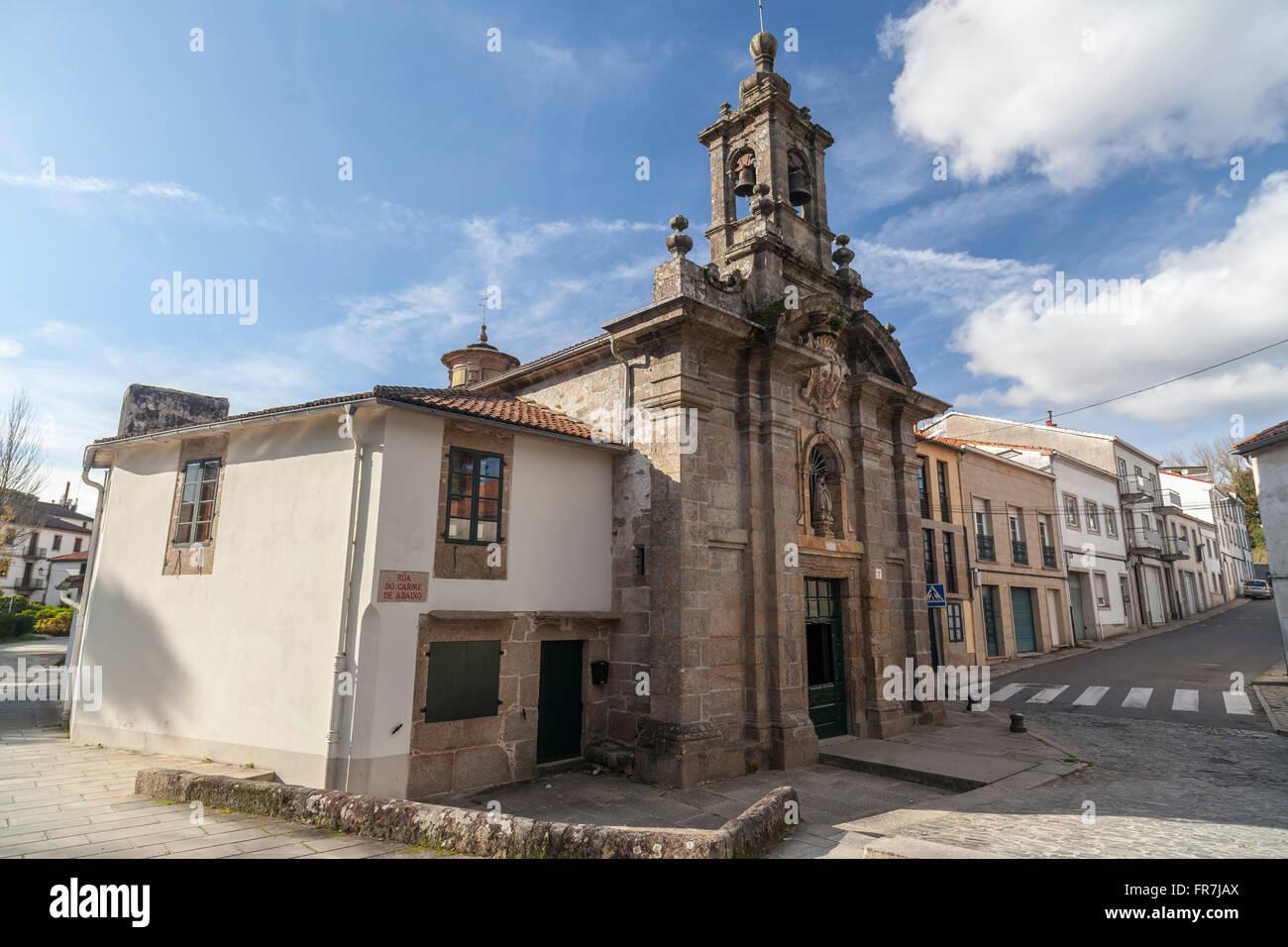 Santiago de Compostela. - Stock Image