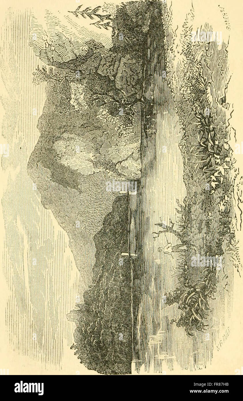 The pictorial sketch-book of Pennsylvania, or, Its scenery, internal improvements, resources, and agriculture, populary described (1852) Stock Photo