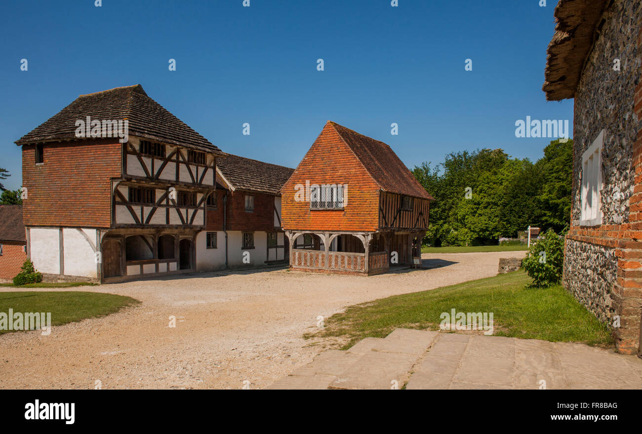 Weald & Downland Open Air Museum.Singleton,West Sussex , England. - Stock Image
