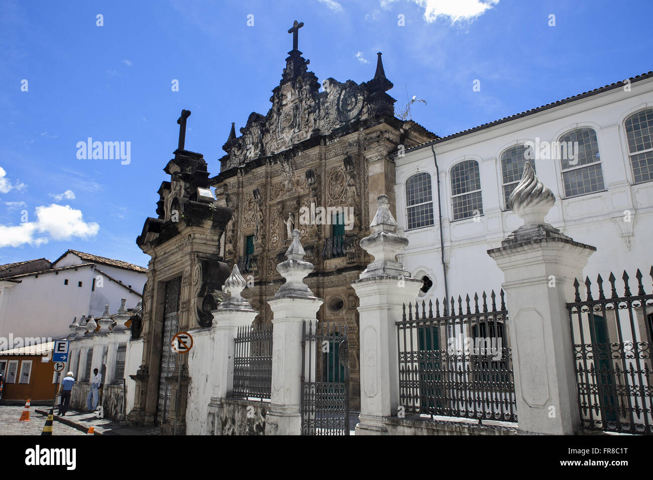 Church of the Third Order of St. Francis - construction 1703 - Stock Image