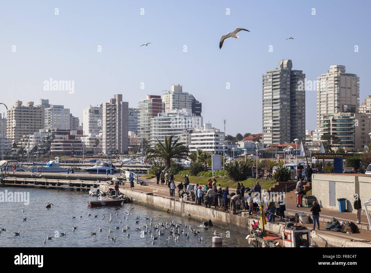 Port Nuestra Senora de la Candelaria - Stock Image